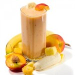 Peach, Mango, and Banada Smoothie